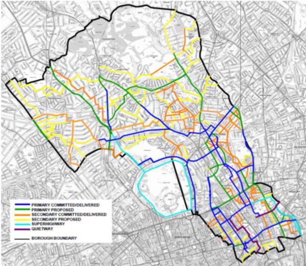 The photo for Camden Draft Cycling Action Plan.